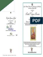 2016 -25 July - VESPERS - St Anna Ioakim