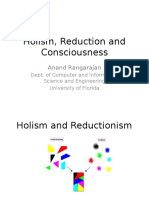 Holism Reduction Consciousness Final