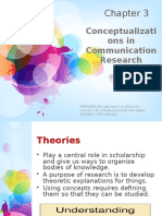 Chapter 3 Conceptualization in Comm Research