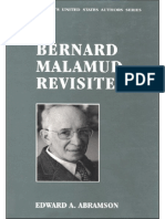 Edward a. Abramson-Bernard Malamud Revisited (Twayne's United States Authors Series) (1993)