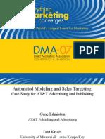 DMA07 Presentation AT&T Use Case