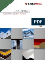 Bm Products Catalogue Industrial Construction en Paneles Sanduche
