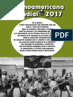 Agenda Latinoamericana Mundial 2017
