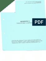 20031007 Session 5 Venture Capital