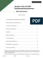 IGBT Characteristics