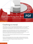 Fast Coaching for Busy People