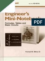 (eBook) Radio Shack - Mini-Notebook - Formulas Tables Basic Circuits