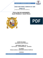 Informe Final 4 CIRCUTOS DIGITALES 2 (FIEE-UNMSM)