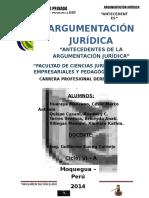 ARGUMENTACION JURIDICA- MONOGRAFIA