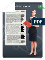 2011 Job Search Guide S11Key Selection Criteria