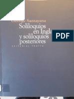 Santayana, George - Hermes el intérprete