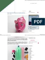 Cómo hacer una alcancía con botellas plásticas.pdf