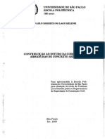 Contribuição ao estudo da corrosão em armaduras de concreto armado