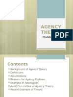 Agency Theory and Resolving It