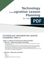 technology integration lesson planning 1