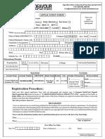Application Form for .Com Site 3