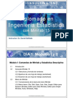 Ingenieria Estadistica Con Minitab 15 Sample