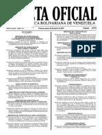 Gaceta Oficial N° 40.935 - Notilogía