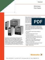 Weidmuller PRO M Power Supplies