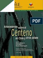 Centeno en Chile y Otros Paises