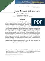 Guion de Vida Santa Teresa de Jesus Análisis transaccional.pdf