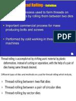 Thread Manufacturing Processes