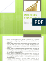INTERESES FINANCIEROS