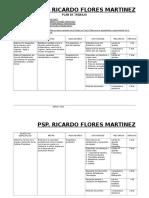 Plan de Trabajo y Cartas Grupo Barrera