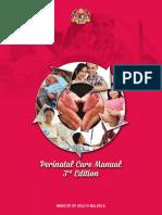Perinatal Care Manual 3rd Edition (2013)
