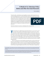 US Monetary Policy Before and After the Great Recession