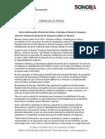30-06-16 Lleva Gobernadora Pavlovich obras a Navojoa y Rosario Tesopaco. C-0616118
