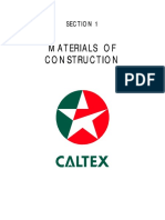 Caltex Materials of Construction