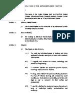 Rules and Regulations IEM