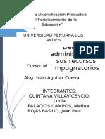 Monografia Derecho Administrativo