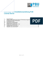 Installationsanleitung Nx 9 Plm License-manager