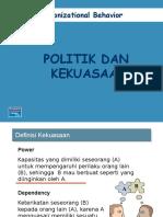 7 Kekuasaandanpolitik Power Politics 121112202830 Phpapp02