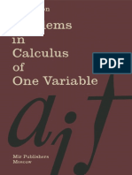 Problems in Calculus of One Variable - I. A. Maron.pdf