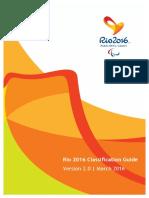 Rio 2016 Paralympic Classification Guide Marzo 2016