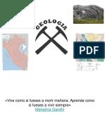 1.0 GEOLOGIA