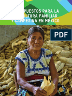 Presupuestos Agricultura Familia
