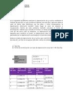 Matemáticas financieras Tarea Individual 5, Depreciación de un activo