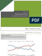 Encuesta Trimestral Nacional sobre Aprobación Presidencial en México