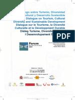 Diálogo Sobre Turismo, Diversidad Cultural y Desarrollo Sostenible