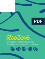 Rio 2016 Veterinary and Farrier Services Guide