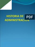 3.- Historia de La Adm