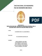 Monografía Gestion Integral MS 525-A