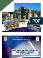 3224 3. Plan Nacional Del Sistema de Respuesta Forense a Desastres