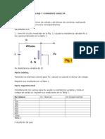Mediciones y Voltajes de corriente directa