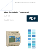 WEG Rele Programavel Clic 02 3rd Manual Portugues Br