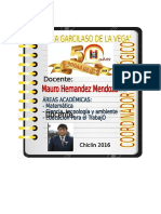 CARPETA COORDINADOR PEDAGOGICO
